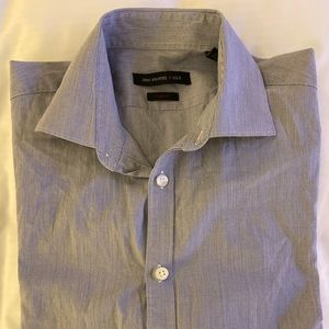John Varvatos Slim Fit Button Size 15 32/33